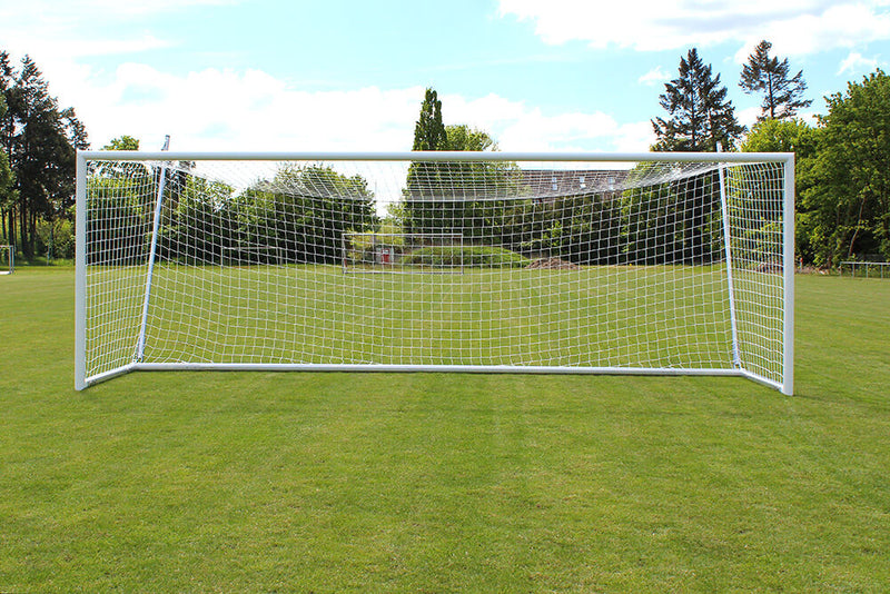 Helogoal 8' x 24' Portable Soccer Goal with Suspended Net-Soccer Command