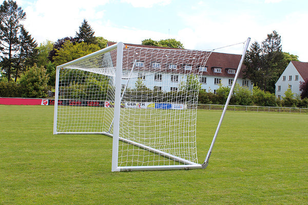 Helogoal 8' x 24' Portable Soccer Goal with Suspended Net-Equipment-Soccer Source