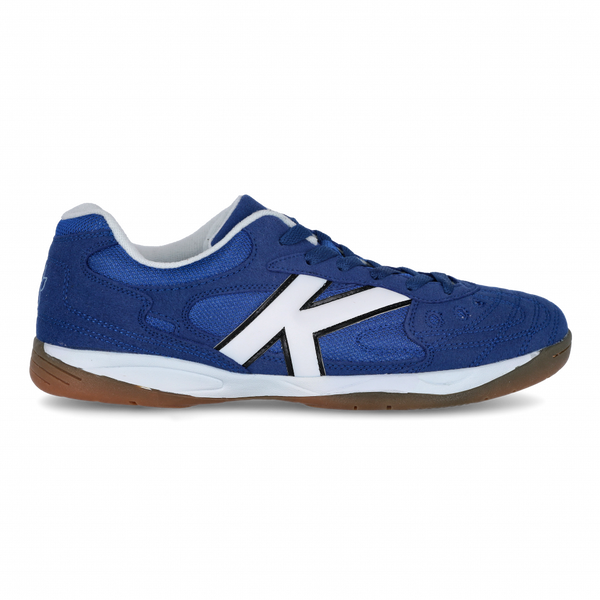 Kelme Indoor Copa Futsal Shoes - Royal/White-Soccer Command