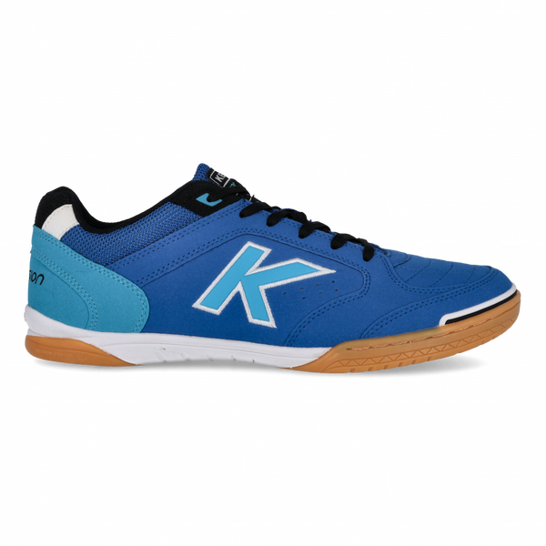 Kelme Precision Futsal Shoes - Electric Blue-Soccer Command