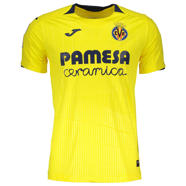 18/19 Villareal CF Home S/S Jersey-Apparel-Soccer Source