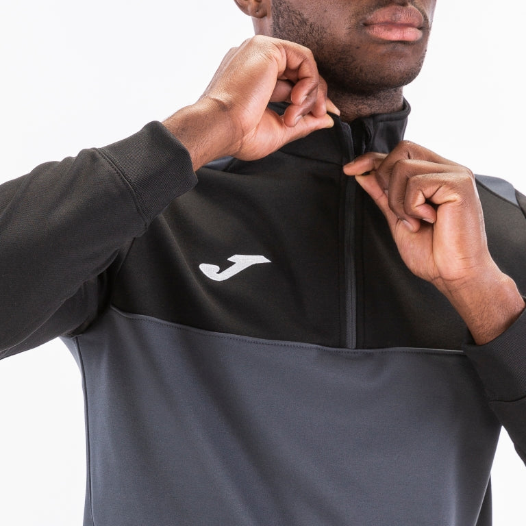 Joma Winner Half-Zip Sweatshirt Jacket-Soccer Command