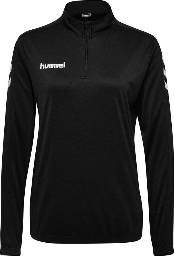 hummel Core 1/2 Zip Soccer Warm Up Jacket (women's)-Apparel-Soccer Source