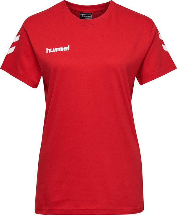 hummel hmlGo Cotton Tee (women's)-Apparel-Soccer Source
