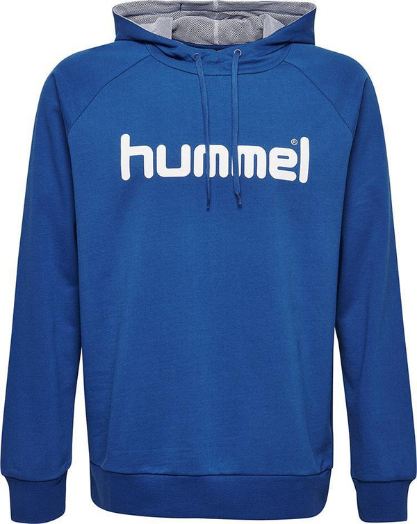 hummel Go Cotton Logo Hoodie (youth)-Soccer Command
