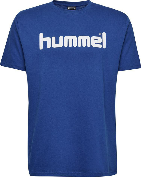 hummel Go Logo Tee (youth)-Soccer Command
