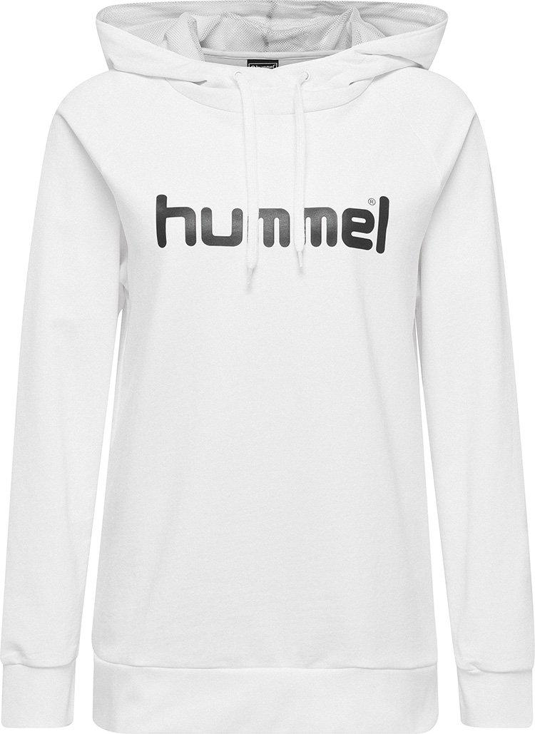 hummel Go Cotton Logo Hoodie (women's)-Soccer Command