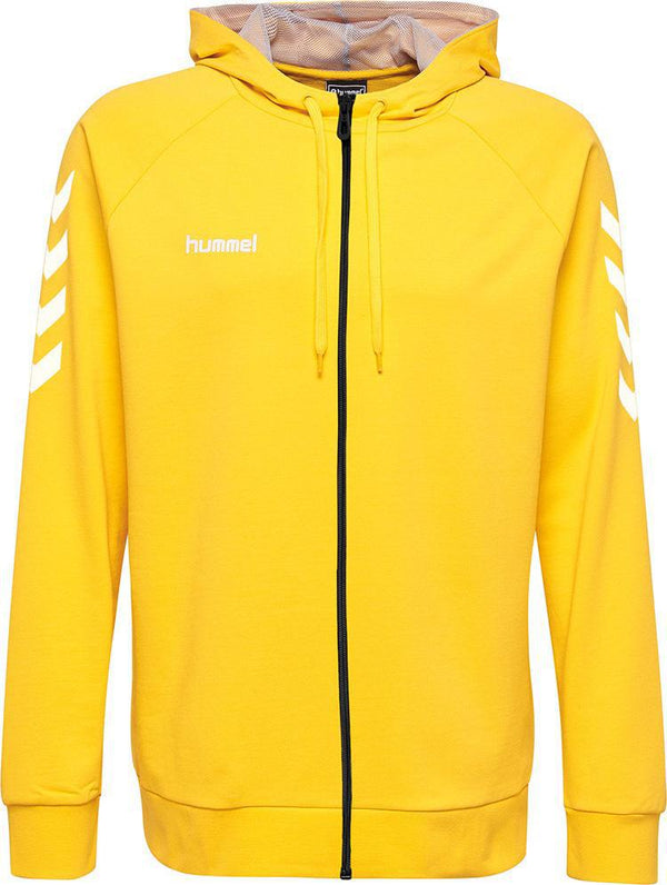 hummel Go Cotton Zip Hoodie (youth)-Soccer Command