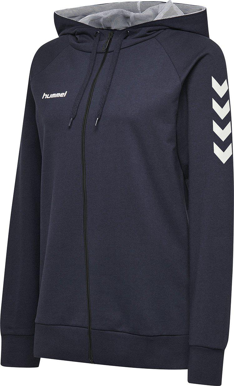 hummel Go Cotton Zip Hoodie (women's)-Soccer Command