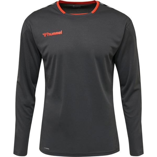 hummel hmlAuthentic Poly LS Jersey (adult)-Apparel-Soccer Source