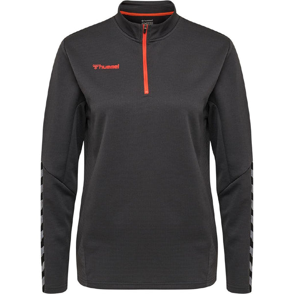 hummel hmlAuthentic Half Zip Jacket (women's)-Apparel-Soccer Source