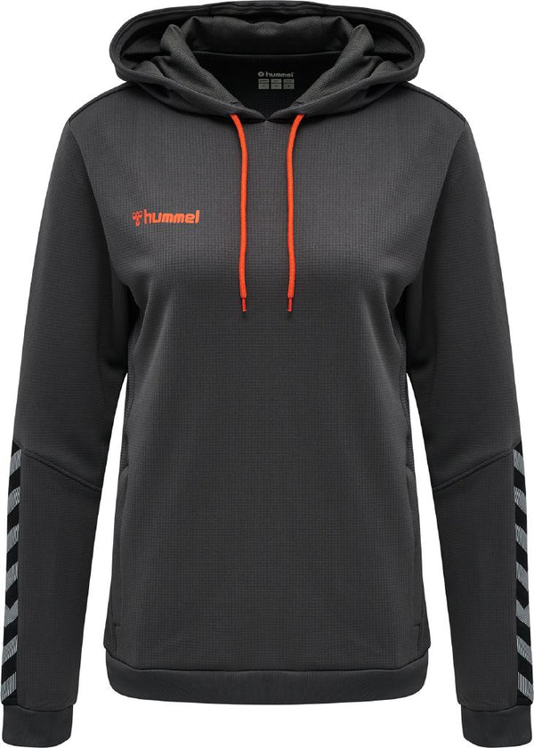 hummel hmlAuthentic Poly Hoodie (women's)-Apparel-Soccer Source