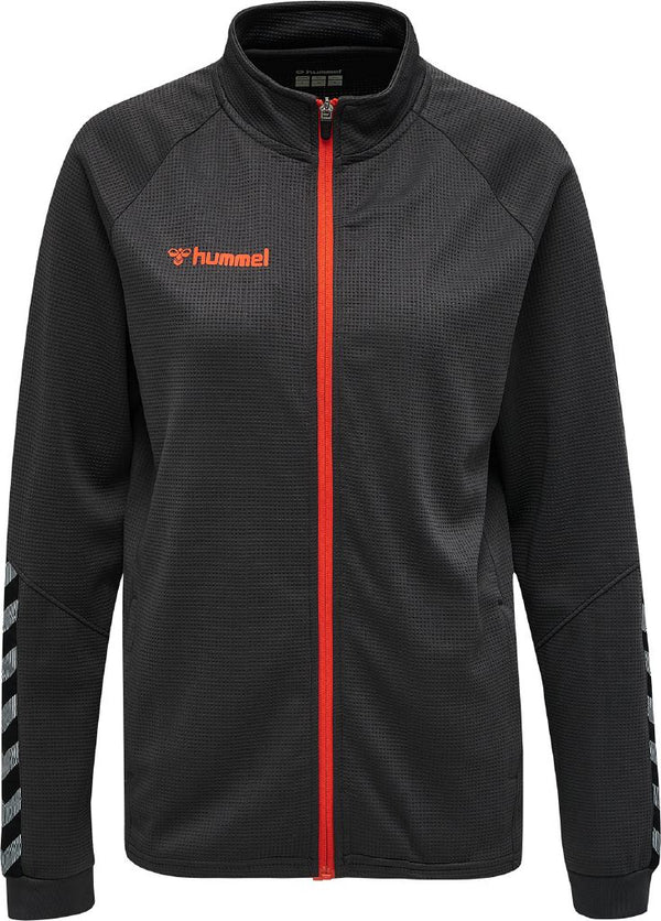 hummel hmlAuthentic Poly Zip Jacket (women's)-Apparel-Soccer Source