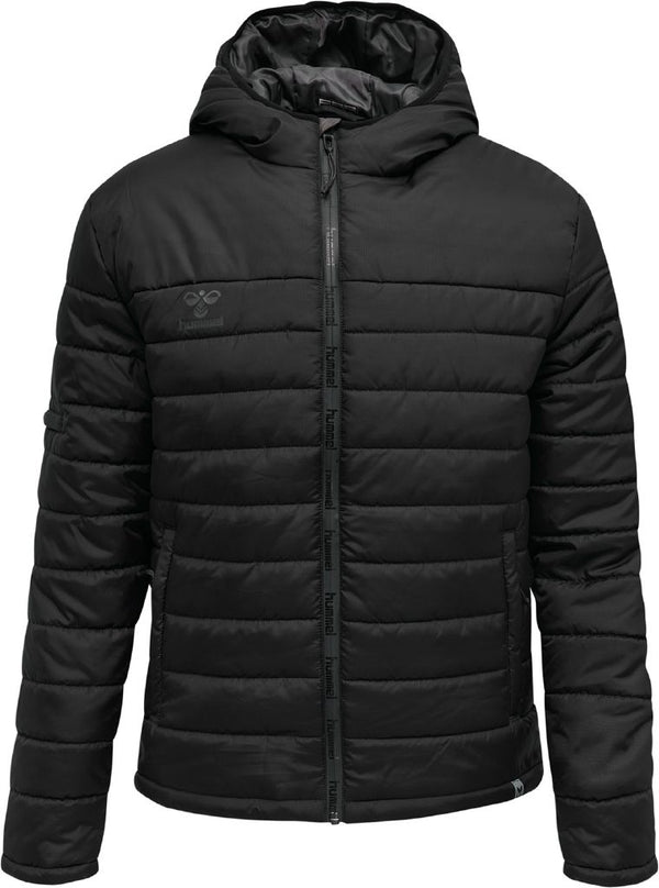 hummel hmlNorth Quilted Hood Jacket-Apparel-Soccer Source