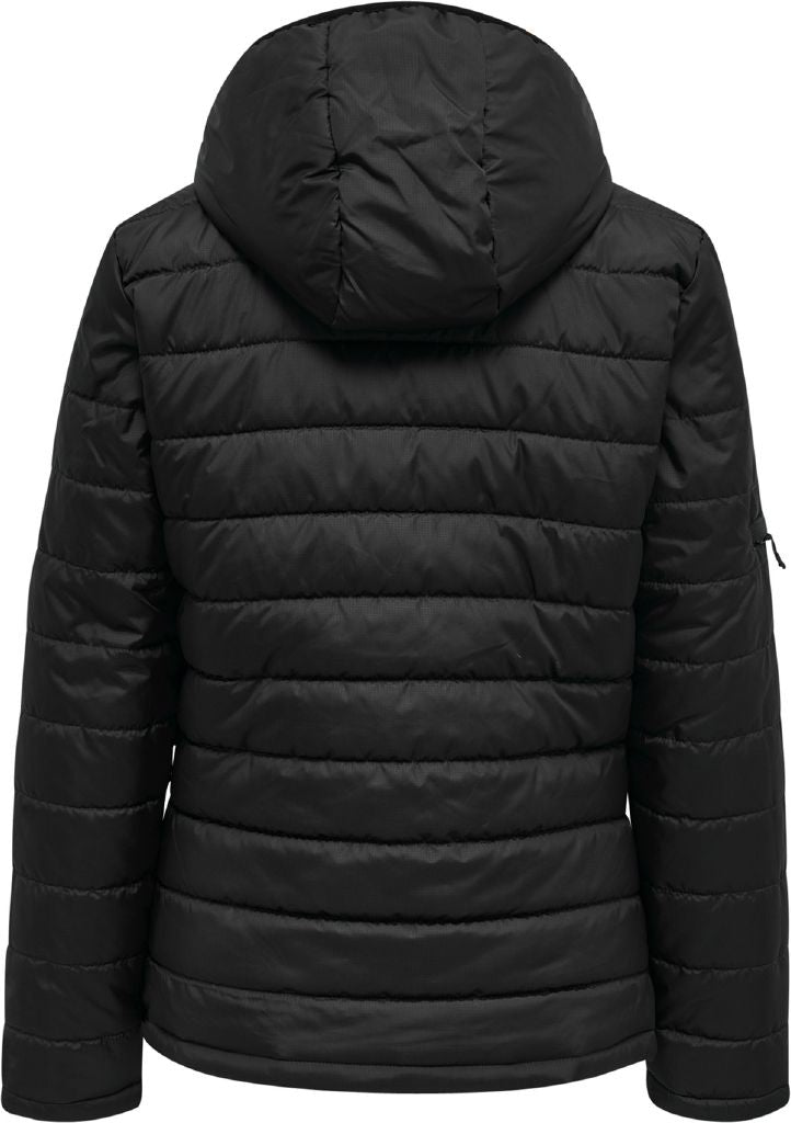 hummel hmlNorth Quilted Hood Jacket (women's)-Apparel-Soccer Source