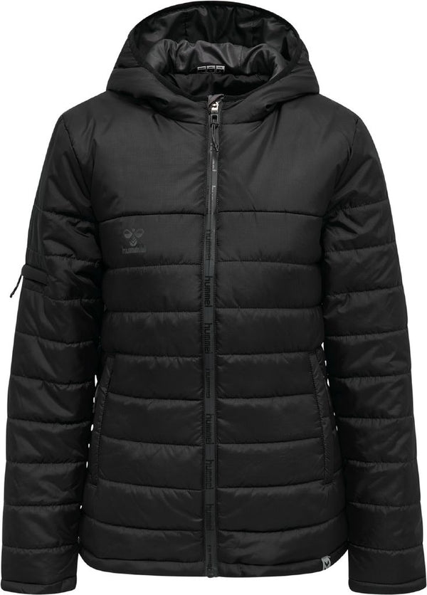 hummel hmlNorth Quilted Hood Jacket (women's)-Soccer Command