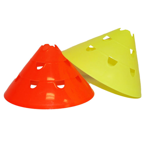"12"" Three-Position Hurdle Cone Set by Soccer Innovations - Soccer Source - Your Source for Quality Soccer Equipment"