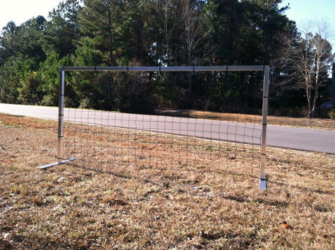 4.5' x 9'  Pevo Flat Faced Coerver Practice Soccer Goal - Soccer Source - Your Source for Quality Soccer Equipment