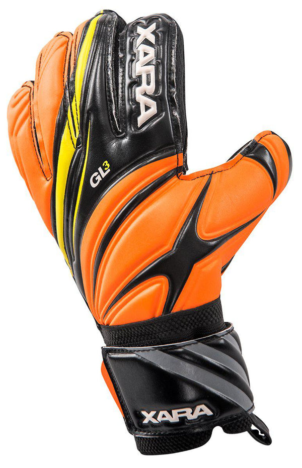 Xara GL3 Finger-Save GK Gloves-Soccer Command