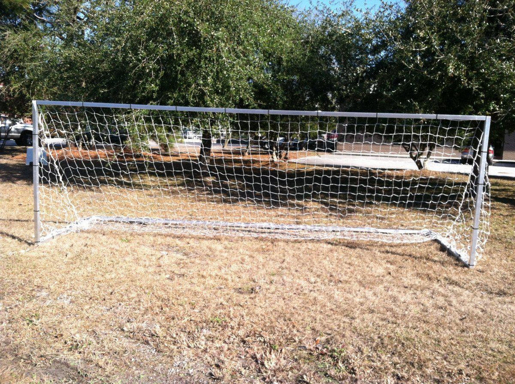 7' x 21'  Pevo European Practice Series Soccer Goal - Soccer Source - Your Source for Quality Soccer Equipment
