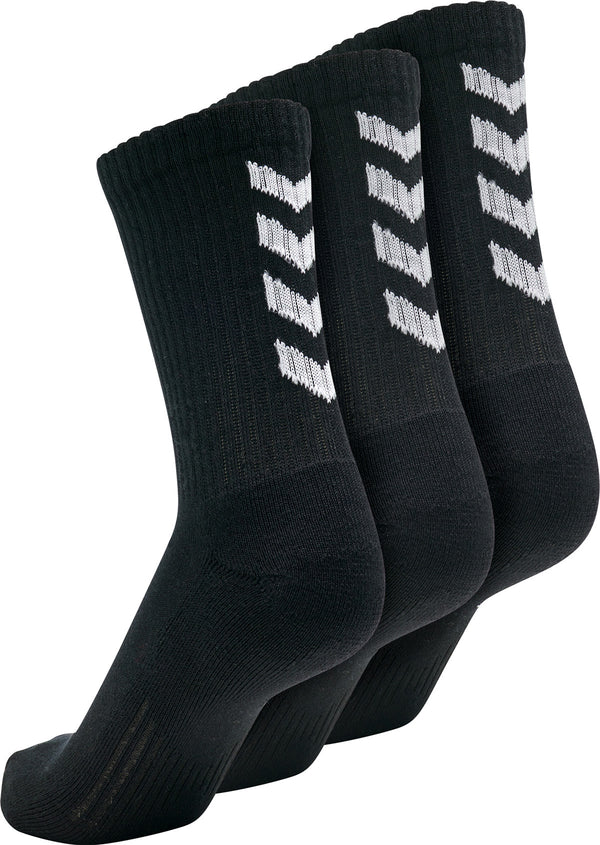 hummel Fundamental Socks (3-Pack)-Soccer Command