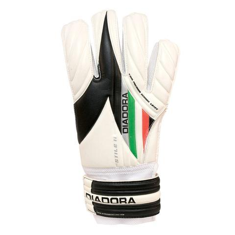 Diadora Stile Jr. Goalkeeper Gloves (white)