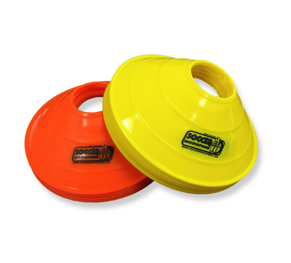 "8"" Double-Thick Disc Cone Set by Soccer Innovations - Soccer Source - Your Source for Quality Soccer Equipment"
