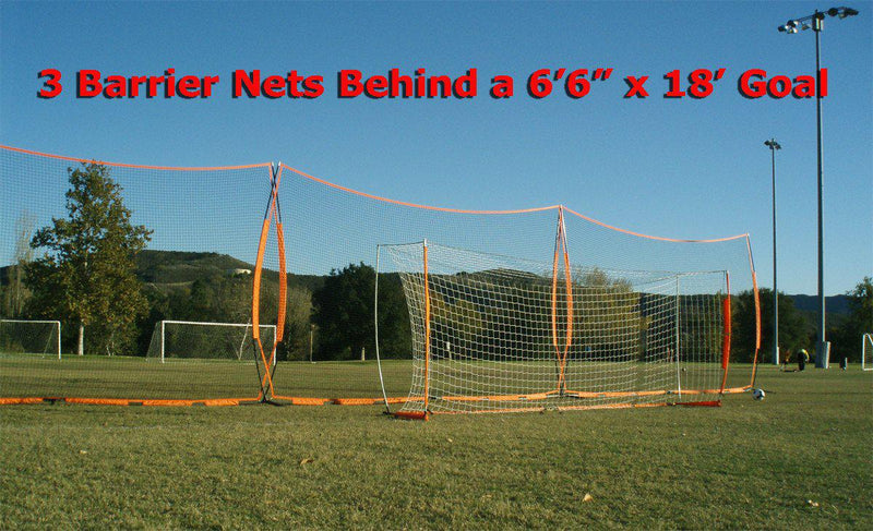 11.5' x 21.5' Bownet Portable Barrier Net-Equipment-Soccer Source
