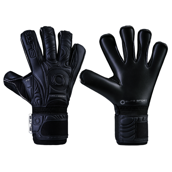 Elite Sport Black Solo 19 Goalkeeper Gloves-GK-Soccer Source