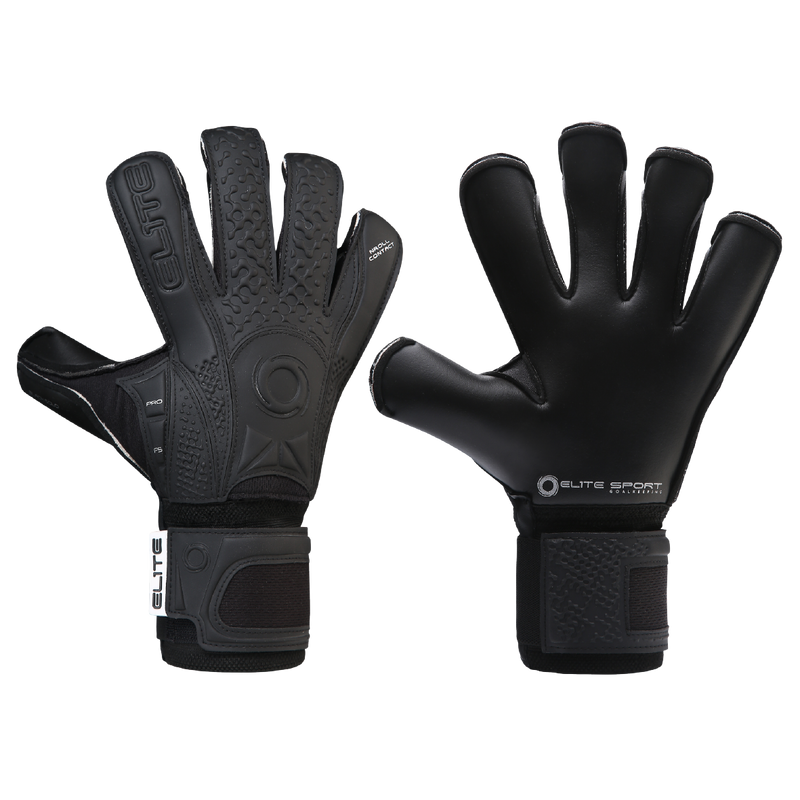 Elite Sport Black Solo 20 Goalkeeper Gloves-GK-Soccer Source