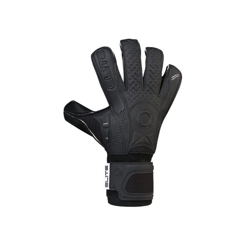Elite Sport Black Solo 20 Goalkeeper Gloves-Soccer Command