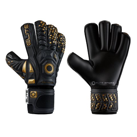 Elite Sport Black Real Goalkeeper Gloves
