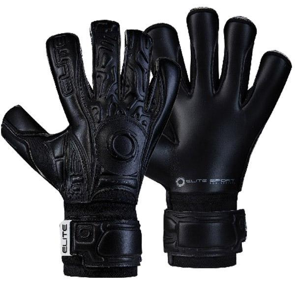 Elite Sport Black Solo Goalkeeper Gloves