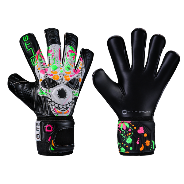 Elite Sport Calavera Goalkeeper Gloves-Soccer Command