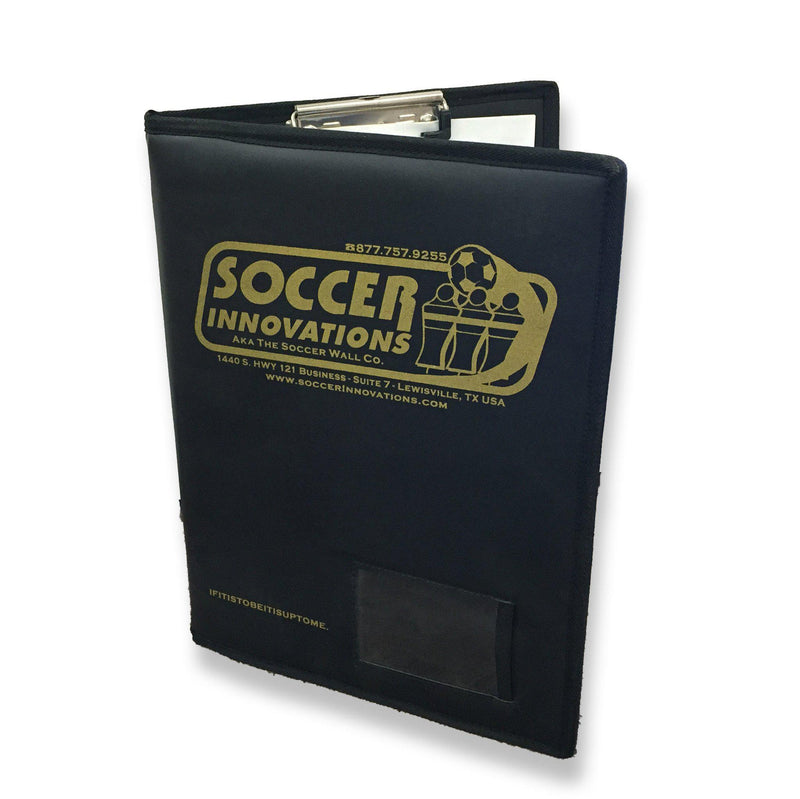 Deluxe All-In-One Coach's Folder by Soccer Innovations-Equipment-Soccer Source