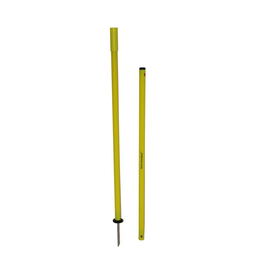 Collapsible Agility Pole Set by Soccer Innovations - Soccer Source - Your Source for Quality Soccer Equipment