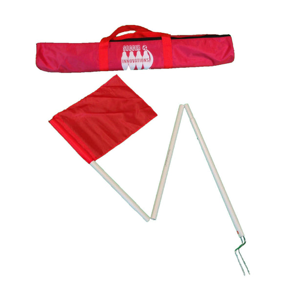 "1/2"" Collapsible Corner Flag Set by Soccer Innovations-Soccer Command"