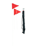Collapsible Fiberglass Corner Flag Set by Soccer Innovations - Soccer Source - Your Source for Quality Soccer Equipment