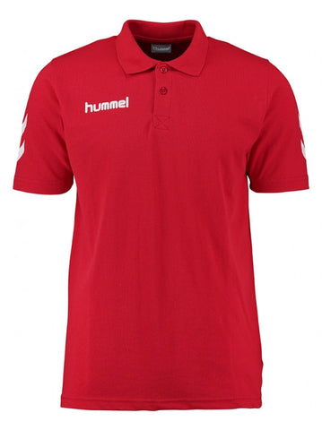 hummel Core Cotton Polo-All Apparel-Soccer Source