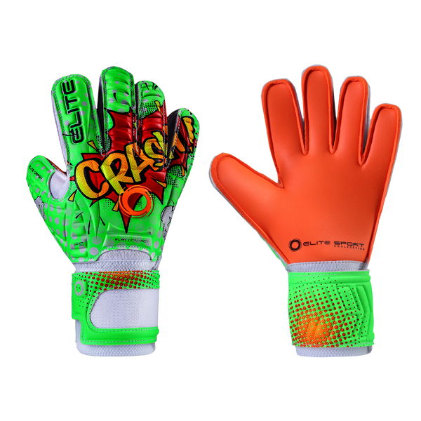 Elite Sport Crash Jr. Goalkeeper Gloves-Soccer Command