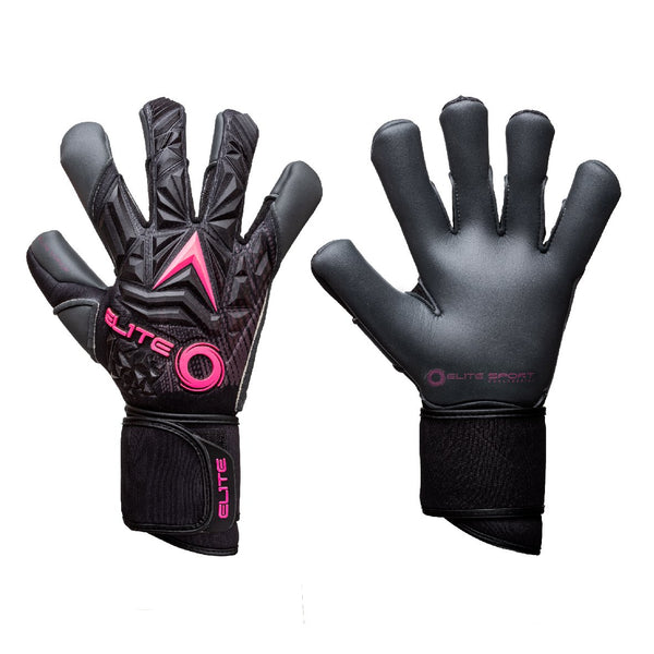 Elite Sport Titanium Pink Goalkeeper Gloves-Soccer Command