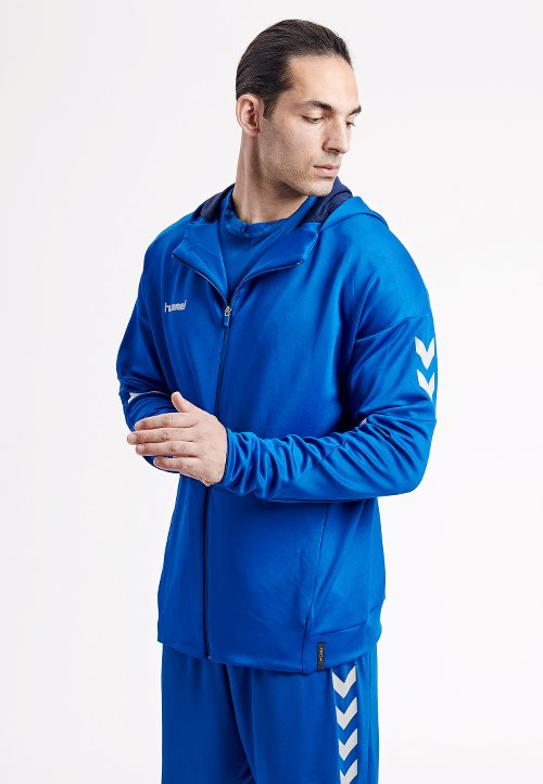 hummel Tech Move Poly Zip Hoodie-Soccer Command