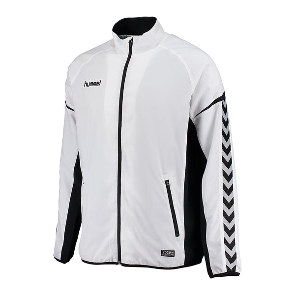 hummel Authentic Charge Micro Zip Warm Up Jacket-Soccer Command