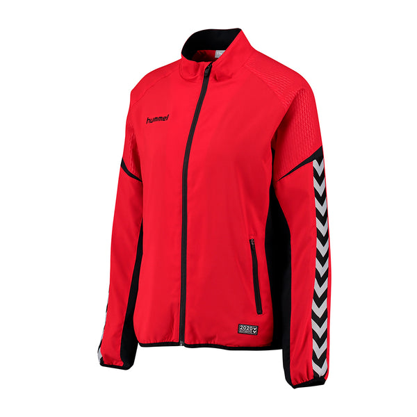hummel Authentic Charge Women's Micro Zip Warm Up Jacket-Apparel-Soccer Source