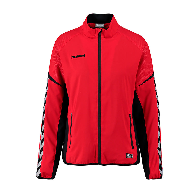 hummel Authentic Charge Women's Micro Zip Warm Up Jacket-Soccer Command