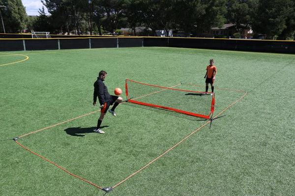 18' Bownet Portable Soccer Tennis Court-Soccer Command