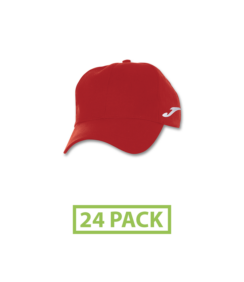 Joma Classic Twill Cap (24 Pack)-Apparel-Soccer Source