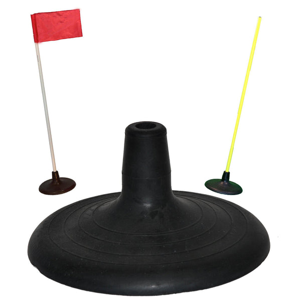 Agility Pole with Rubber Base by Soccer Innovations-Equipment-Soccer Source