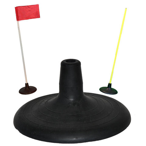 Agility Pole with Rubber Base by Soccer Innovations - Soccer Source - Your Source for Quality Soccer Equipment