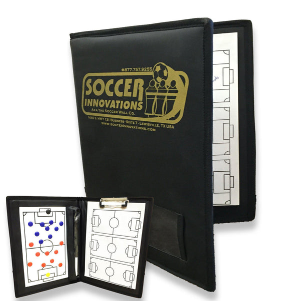 Deluxe All-In-One Coach's Folder by Soccer Innovations-Soccer Command